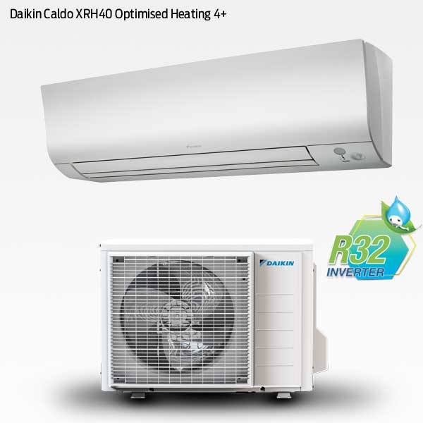 Daikin Caldo XRH40 med optimized heating 4+